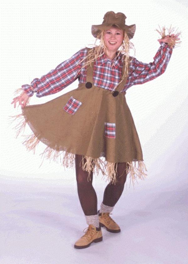 damen Kostüme Vogelscheuche frau