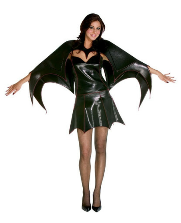 Selbstgemachte Kostüme batgirl
