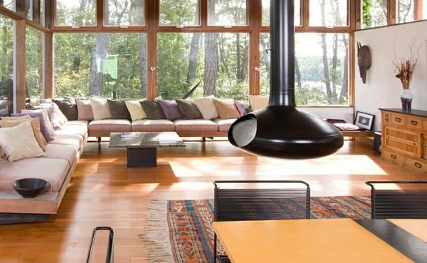 wohnzimmer ofen holz:Sofas und Couches – coole Polstermöbel fürs Wohnzimmer