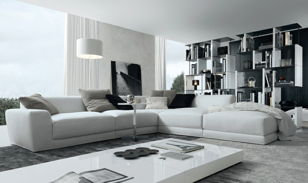 sofas und couches coole polsterm bel f rs wohnzimmer. Black Bedroom Furniture Sets. Home Design Ideas