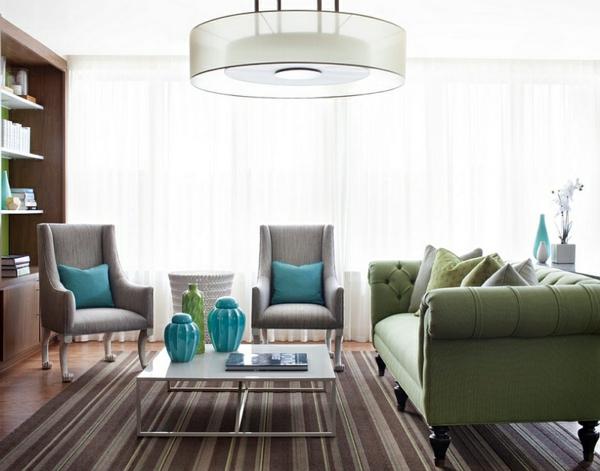 Sofas und Couches pendelleuchten teppich wohnzimmer polstermöbel