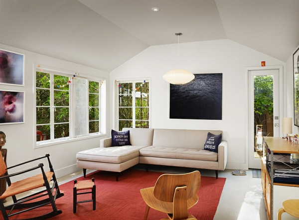 Sofas und couches coole polsterm bel f rs wohnzimmer for Couch vor fenster