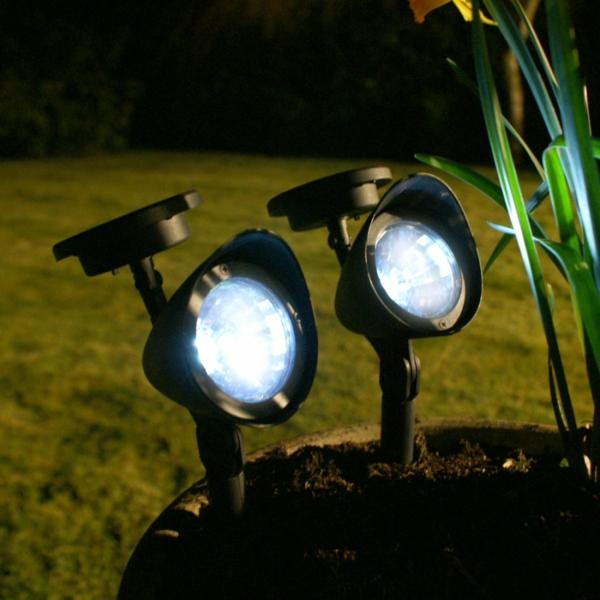Solarleuchten im Garten contemporary lampen