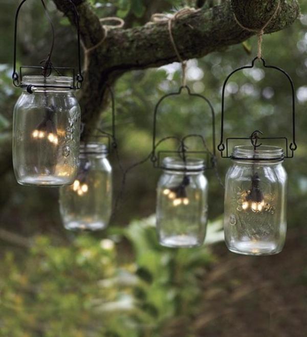 Solarleuchten im Garten contemporary laternen glas