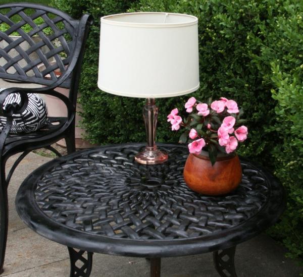 Solarleuchten lampen Garten contemporary traditionell tischlampe