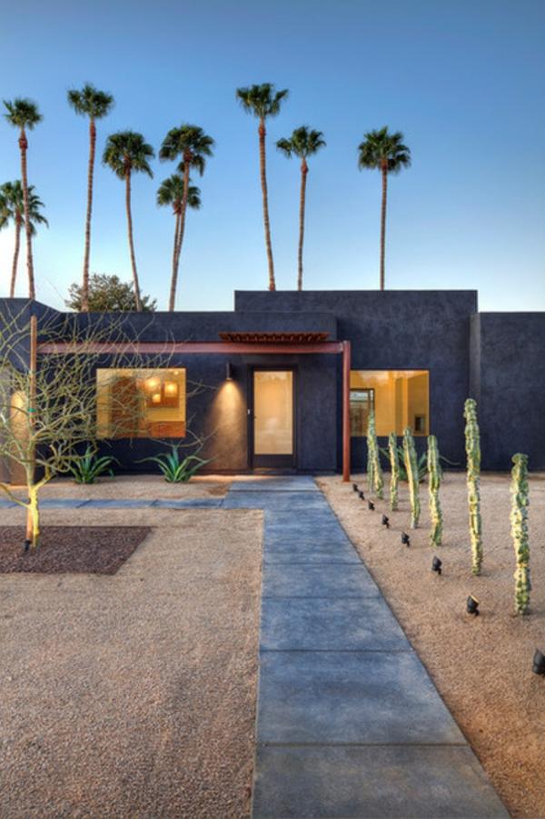Solarleuchten im Garten modern landschaft exotisch