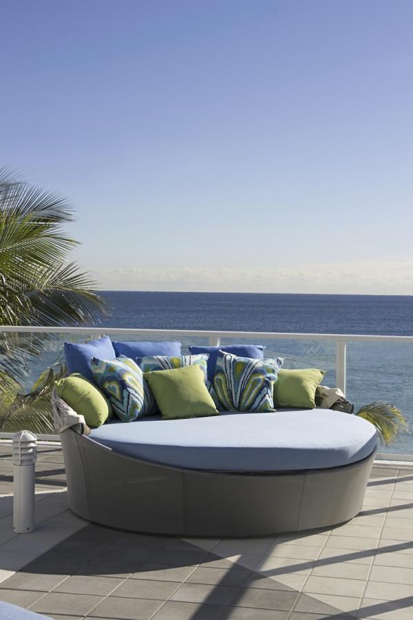 strand meer palmen Tagesbett im Garten