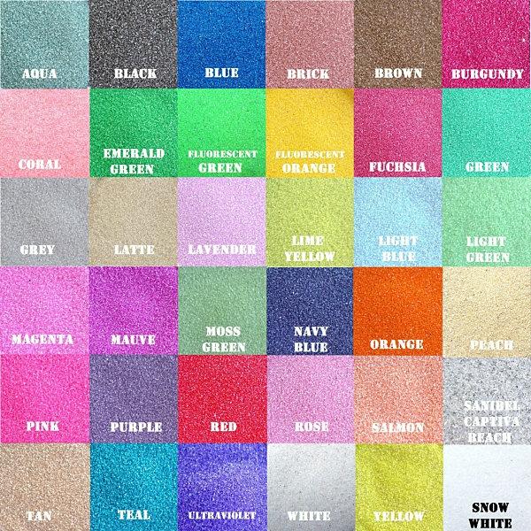 Terrarium sand lebhafte farben luftpflanzen