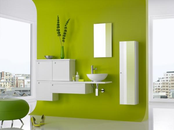 wandfarbe in gr nt nen frische lebhafte farbgestaltung. Black Bedroom Furniture Sets. Home Design Ideas