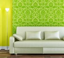 Wandfarbe in Grüntönen – frische, lebhafte Farbgestaltung