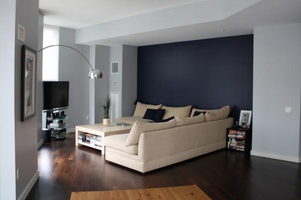 design : wandgestaltung wohnzimmer grau lila ~ inspirierende ...