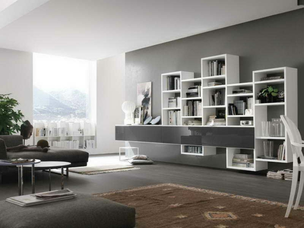 wandfarbe grau m belideen. Black Bedroom Furniture Sets. Home Design Ideas