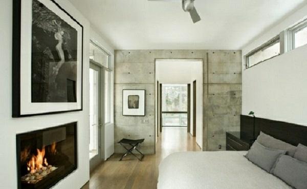 Wandfarbe mit betonoptik w nde aus beton - Wandfarbe betonoptik ...