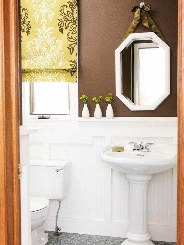 Wandfarben Brauntöne wandfarben ideen badezimmer