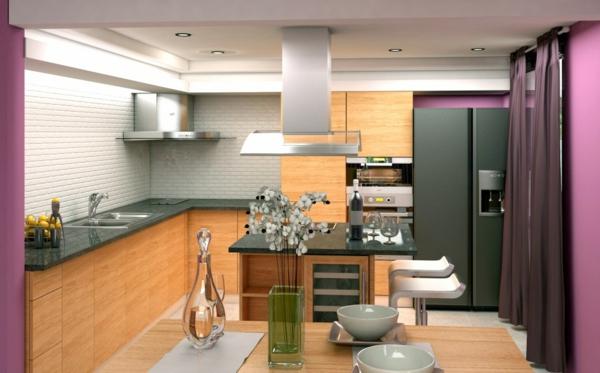 Wandgestaltung für die Küche arbeitsplatte