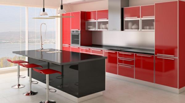 Wandgestaltung für die Küche kücheninsel