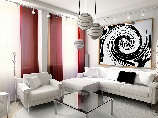 Wohnzimmergardinen Und Vorhänge Richtig Auswählen | Wohnzimmer ...