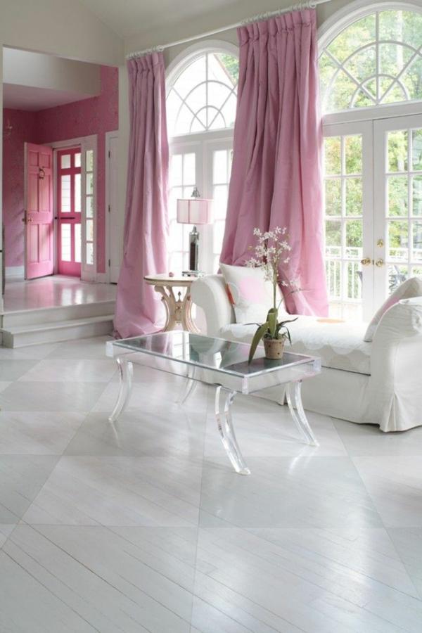 altrosa wandfarbe - ein hauch romantik in den innenraum einfügen - Rosa Wandfarbe Wohnzimmer