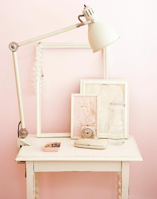Altrosa Wandfarbe - ein Hauch Romantik in den Innenraum einfügen