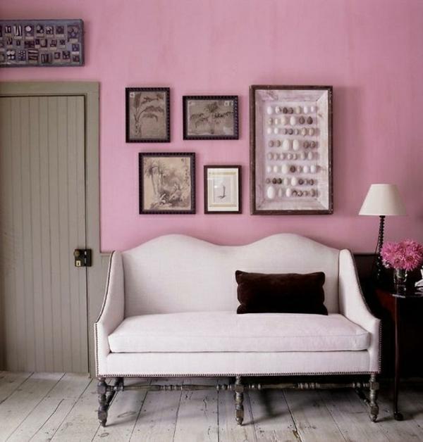 altrosa wandfarbe ein hauch romantik in den innenraum einf gen. Black Bedroom Furniture Sets. Home Design Ideas