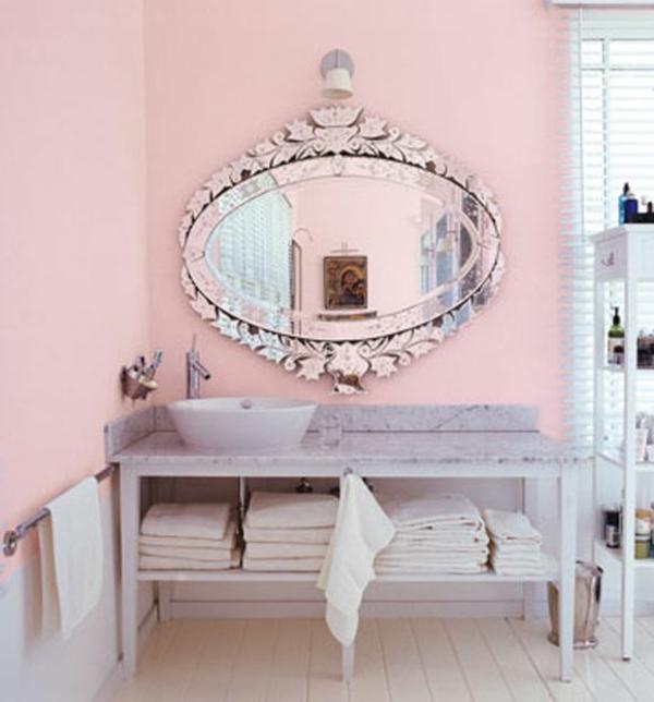 Altrosa wandfarbe ein hauch romantik in den innenraum einf gen - Vintage wandfarbe ...