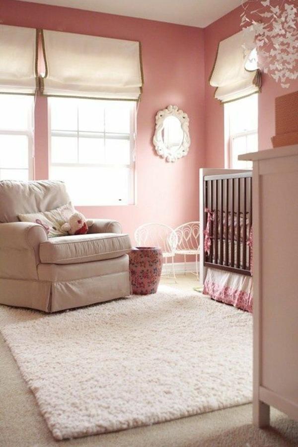 Rosa Wandfarbe Schlafzimmer: Beste Wandfarbe Frisches Schlafzimmer,  Schlafzimmer