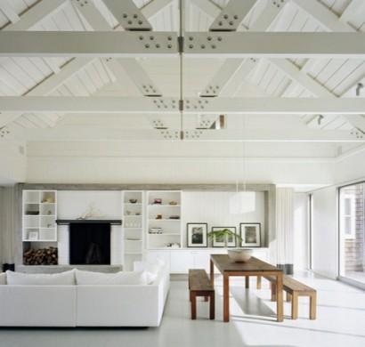 18 Wohnzimmer Designs Mit Gewölbedecken