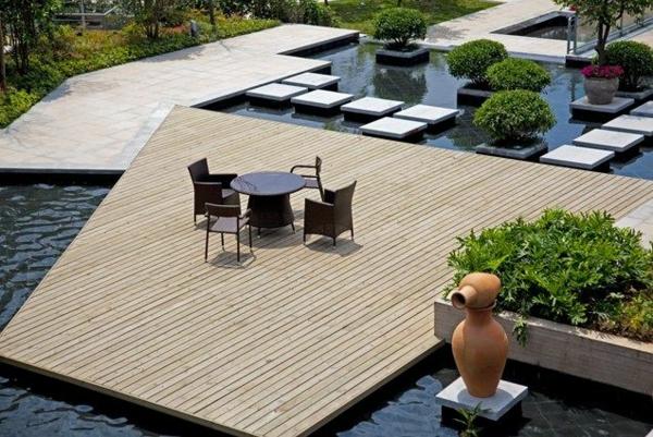 ▷ 1001+ beispiele für moderne gartengestaltung - Gartengestaltung Wasser