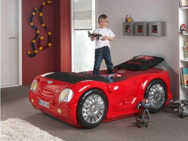 außergewöhnliche betten kinderzimmer designideen auto