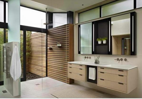 badezimmer design flache bad schränke badmöbel