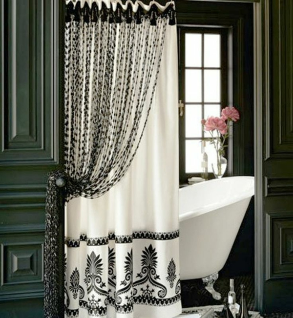 badezimmer gardinen gardinen dekoration beispiele