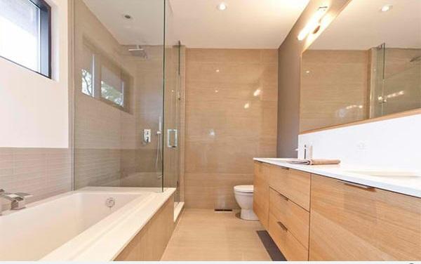 badezimmer ideen badmöbel flache bad schränke spiegel