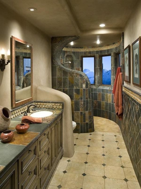 badezimmer ideen  für einrichtung dusche