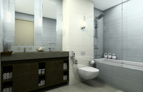 badezimmer ideen modern badmöbel
