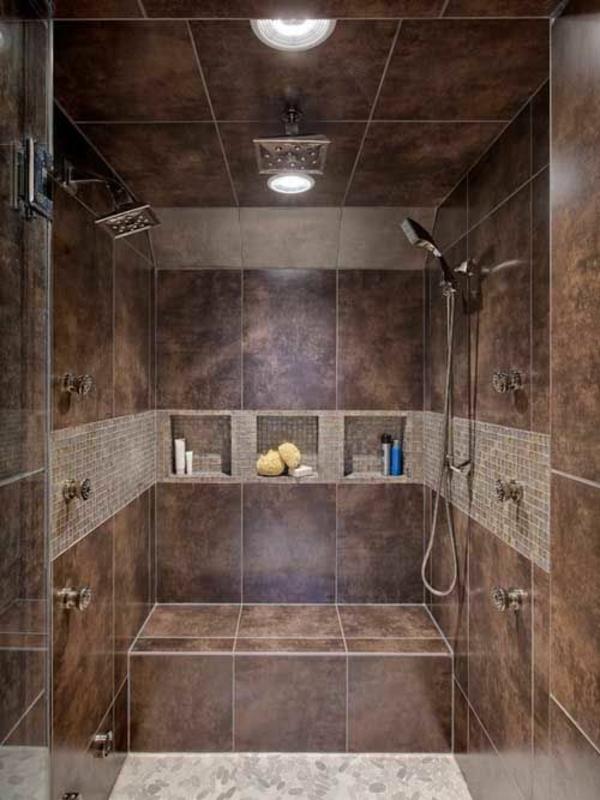 40 Stilvolle Ideen Für Einrichtung In Ihrer Wohnung Badezimmer Mit Dusche Einrichten