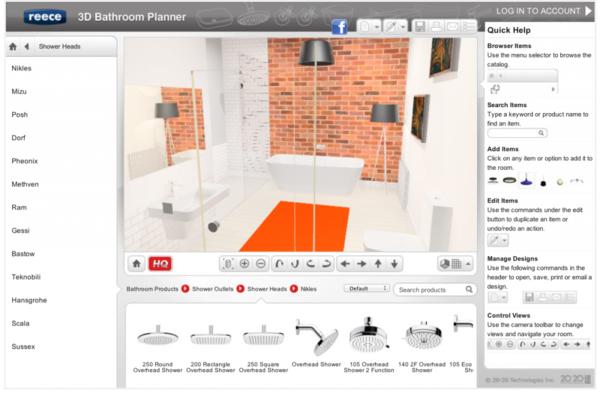 badezimmerplaner online 3d raumplaner visualisierung badgestaltung englisch
