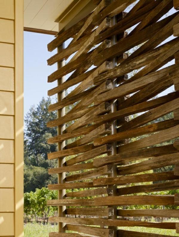 balkon  sichtschutz zeitgenössisch terrassengestaltung