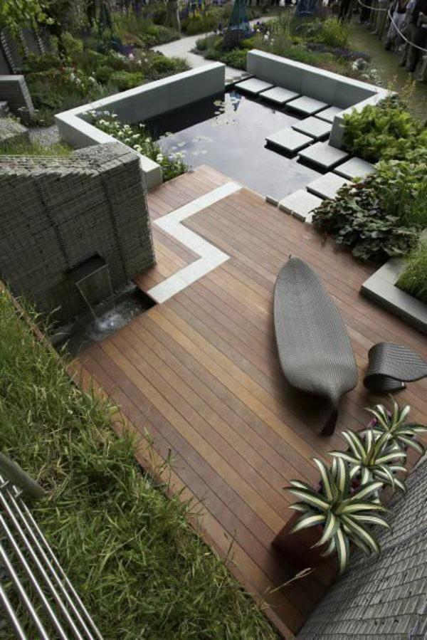 ▷ 1001+ beispiele für moderne gartengestaltung, Terrassen ideen