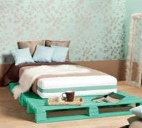 Bett aus Europaletten selbst bauen – Coole Möbel drücken Ihre Persönlichkeit aus