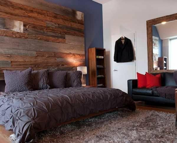 Kopfteil Bett Aus Europaletten Schlafyimmer Design