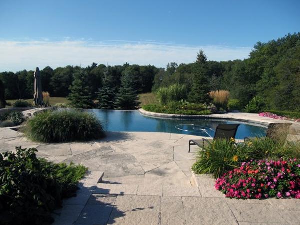 pool garden schwimmbecken ideen natur