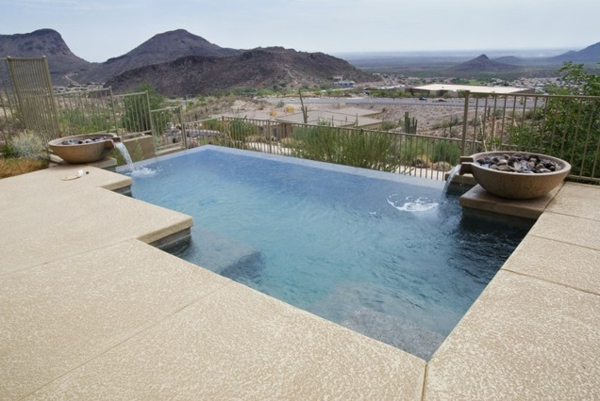 schwimmbecken ideen simpel bilder pool garden