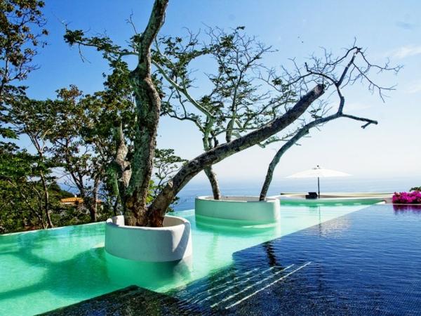 1001 ideen und erstaunliche bilder von pool im garten for Garten randgestaltung