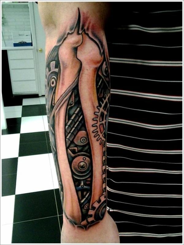 biomechanik tattoo unterarm tattoos knöchel
