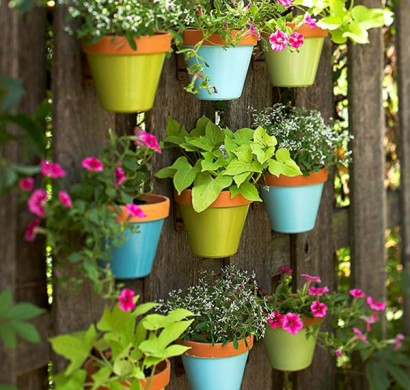bunte gartendeko selber machen - frische und schönheit im garten, Garten und Bauten