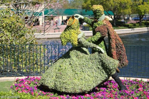 buchsbaum verliebt tanzen formschnitt garten figuren disney