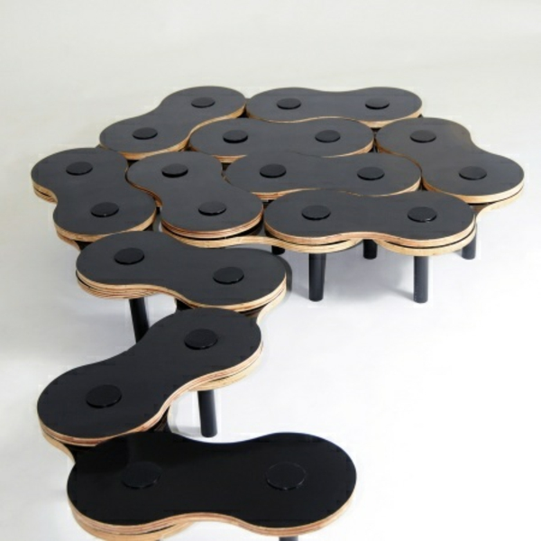 40 couchtisch design ideen ihre wohnung kann sch ner aussehen. Black Bedroom Furniture Sets. Home Design Ideas