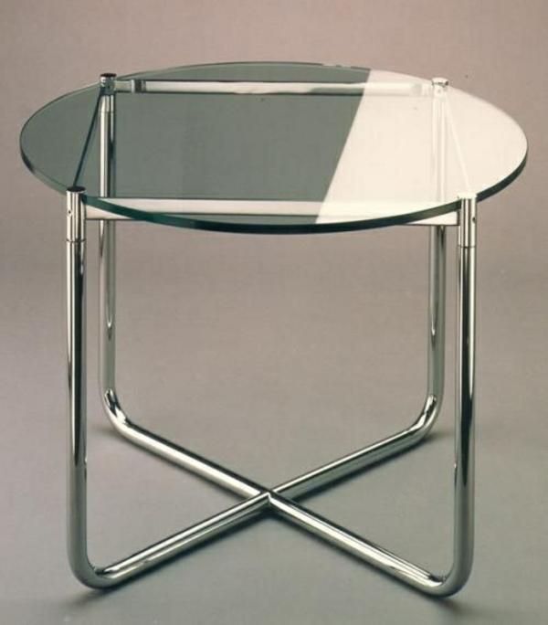couchtisch design urban glasoberfläche metallbasis