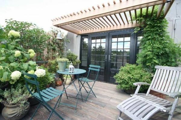 Dachterrasse Gestalten - Ihre Grüne Oase Im Außenbereich Dachterrasse Und Balkon Dekorieren 25 Ideen Fur Oase Der Grosstadt