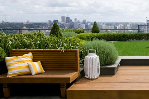 dachterrasse gestalten ihre gr ne oase im au enbereich. Black Bedroom Furniture Sets. Home Design Ideas